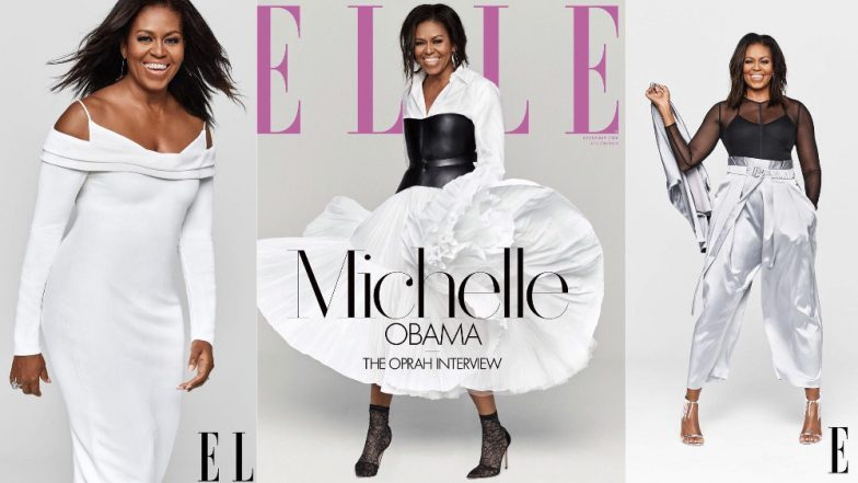 Michelle Obama Graces The Cover Of Elle Magazine With A Leather Corset And A Powerful Interview!