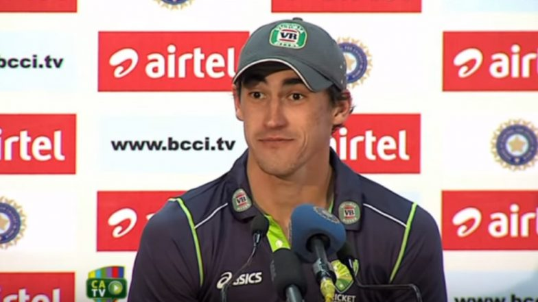 Mitchell Starc Files USD 1.53 Million Lawsuit Against Insurance Company After He Failed to Play For KKR in IPL 2018