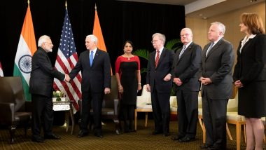 PM Modi Highlights 'Mainstreaming of Terrorists in Pakistan' in Bilateral Talks with Mike Pence in Singapore