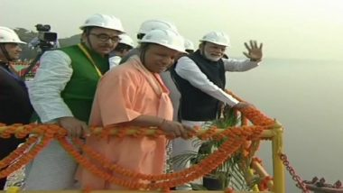 PM Modi Inaugurates Multi Modal Terminal in Varanasi, Receives 16 Containers Sent by PepsiCo From Haldia