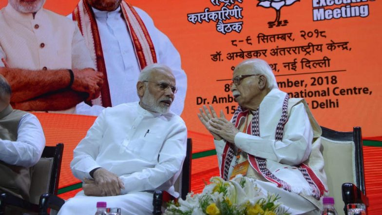 LK Advani Birthday: Narendra Modi Wishes Veteran BJP Leader