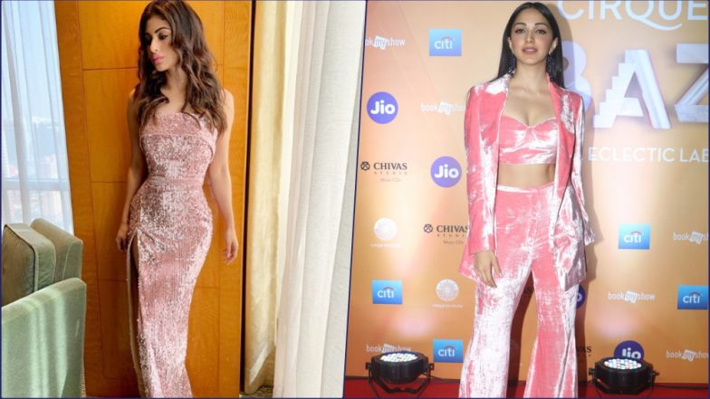 Mouni Roy and Kiara Advani Show You How to Rock the Bubblegum Pink Outfit (See Pictures)