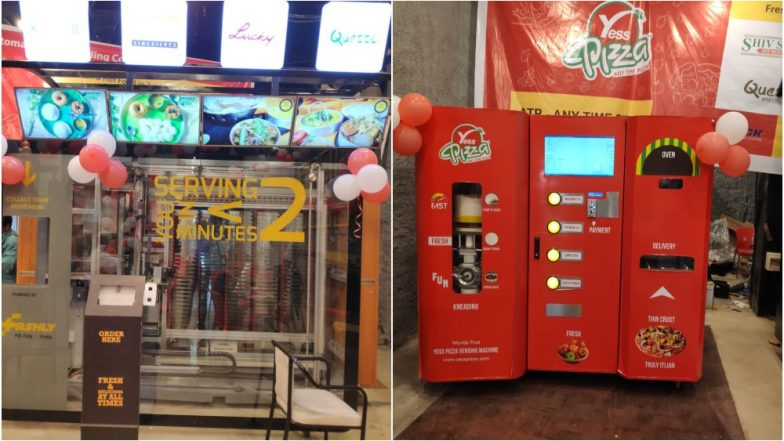 Grab a Pizza Before Boarding Train! Mumbai Central Station Install Vending Machines That Serve Pizza, Fries & More