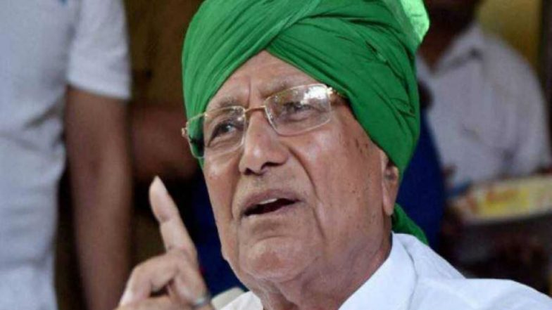 Delhi Police Seizes Phone, Mobile Charger, Tobacco From OP Chautala's Cell in Tihar Jail; Inquiry Launched