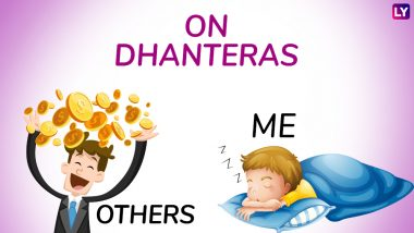 Dhanteras 2018 Funny Jokes, Memes & Diwali Images: No Money for Gold on Dhanteras? Celebrate Bonus-less Deepavali by Sharing These Hilarious Photos