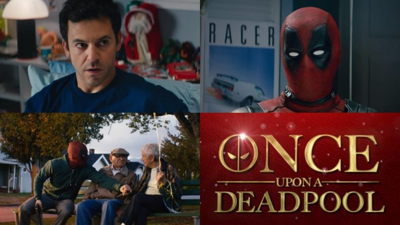 Once Upon a Deadpool Trailer: Ryan Reynolds Returns As The Mercenary But Without His Cuss Words And Bawdy Humour!