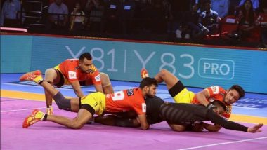 PKL 2018-19 Video Highlights: Gujarat FortuneGiants Register a Comfortable Win Over Haryana Steelers