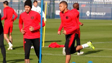 PSG's Neymar Jr and Kylian Mbappe Out of Action Owing to Injuries; Doubtful for Champions League Fixture Against Liverpool