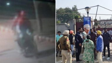 Amritsar Grenade Attack: Photo of 'Bike-borne Suspects' Released by Punjab Police, View Here
