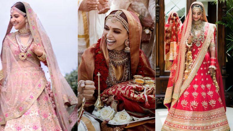 Was Deepika Padukone's Bridal Avatar Better Than Sonam Kapoor and Anushka Sharma's Look? Vote and Tell Us