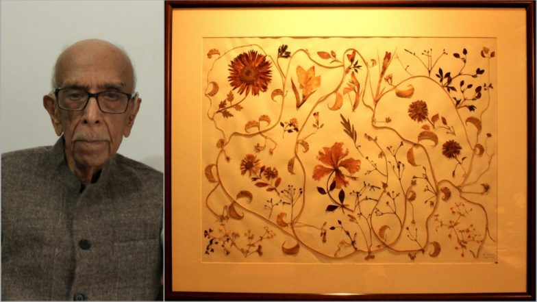 Pressed Flower Craft Photos: 80-Year-Old Artist Hari Tandon Breathes New Life Into Wilted Flowers