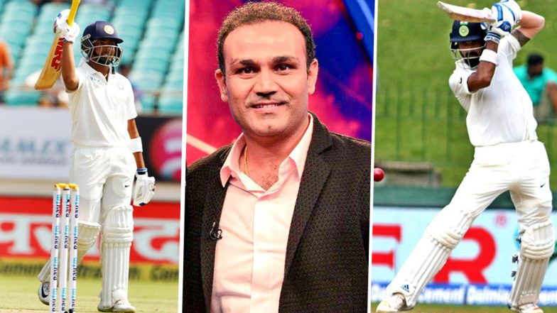 Virender Sehwag Picks Prithvi Shaw & KL Rahul As India's Openers in 2018 Test Series Against Australia, Says Murali Vijay Has Had His Chances!