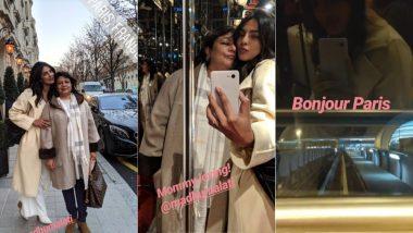 Is Priyanka Chopra Shopping In Paris For Her Wedding? View Pics