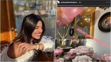 Priyanka Chopra is All Smiles As She Feels the 'Bachelorette Vibes', Nick Jonas' Bride-To-Be Looks Radiant in Her Recent Post – See Pic