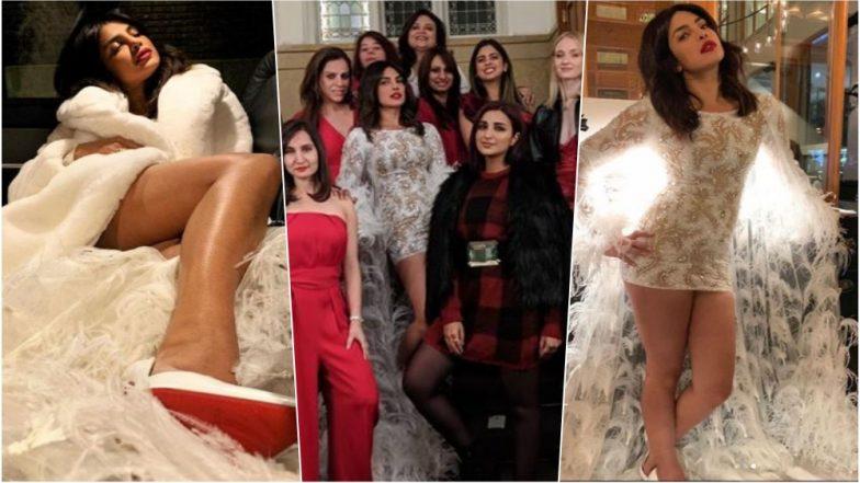 Priyanka Chopra Bachelorette Pics: Isha Ambani & Parineeti Chopra Join Nick Jonas' Fiance at Amsterdam
