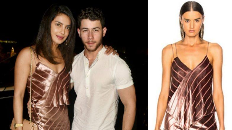 Priyanka Chopra's Pre-Wedding Dinner Outfit With Nick Jonas, Joe Jonas And Sophie Turner Nearly Cost Her Rs 48,000!