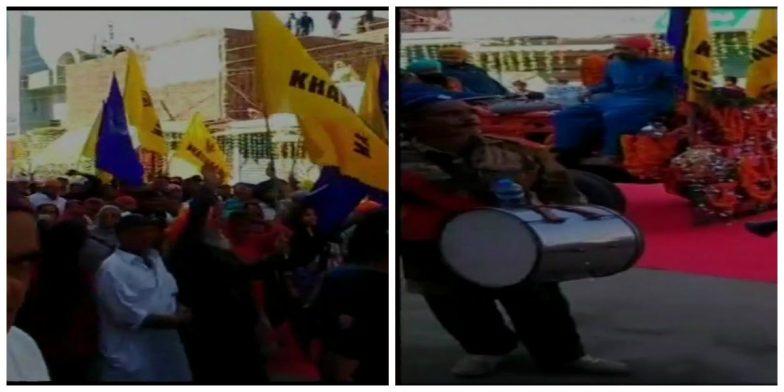 Pro-Khalistan Flags Raised in Pakistan's Nankana Sahib on Occasion of Guru Nanak Jayanti