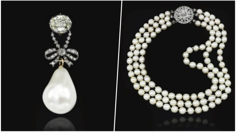 Marie Antoinette's Pearl & Diamond Pendant Auctioned at Sotheby's for Record $36.4 Million (View Pics)