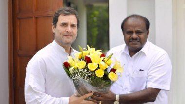 Congress, JD(S) Seal Seat-Sharing Pact in Karnataka, Agree on 20:8 Formula For Lok Sabha Elections 2019