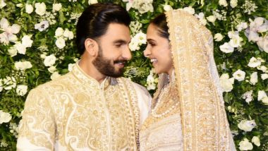 Ranveer Singh Looking at Deepika Padukone Proves How Much He is Smitten By His Gorgeous Wife! (View Pics)