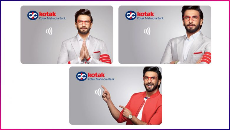 Ranveer Singh and Deepika Padukone's Wedding Cashed in On by Kotak Mahindra Bank as They Introduce Debit Cards Featuring the Quirky Bollywood Actor