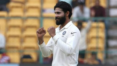 India vs Australia 2018: Ravindra Jadeja Was Picked for Australia Test Series, Asserts BCCI