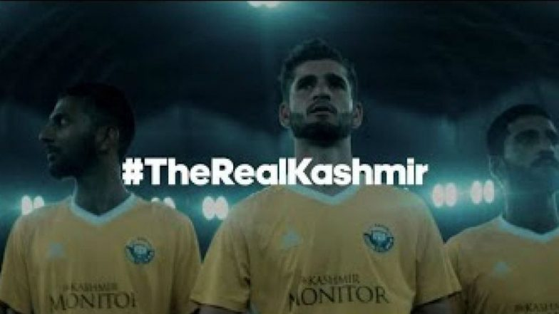 Real Kashmir FC's Campaign Showcases Love for Football in the Valley, Watch Video