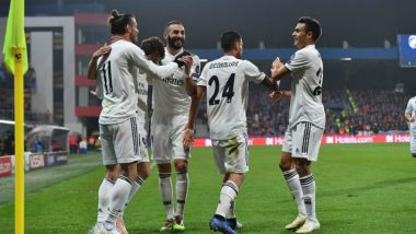 Real Madrid vs Eibar Live Streaming Online: How to Get Spanish La Liga 2018–19 Match Live Telecast on TV & Free Football Score Updates in Indian Time?