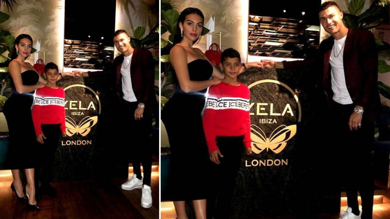 Cristiano Ronaldo Spends Rs 25 Lakh on Two Bottles of Wine to Celebrate 1-Year-Old Daughter Alana Martina's Birthday In London!