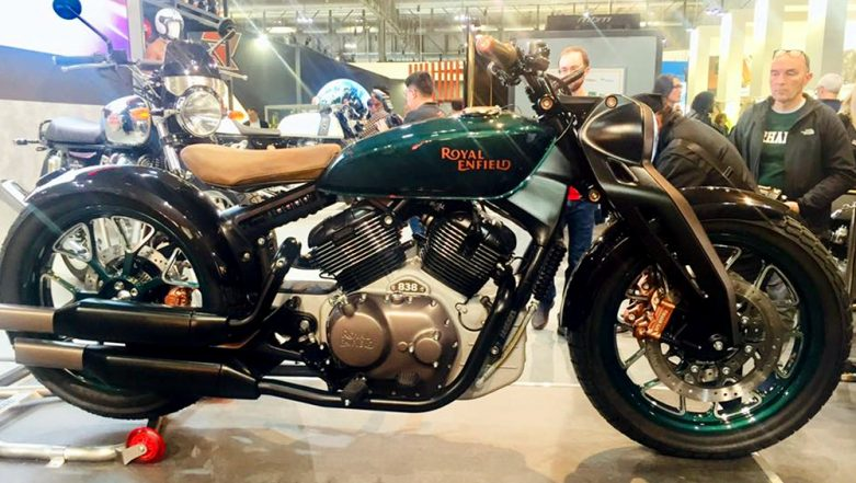 EICMA 2018: Royal Enfield Reveals New 838cc Bobber KX Concept at Milan Motorcycle Show