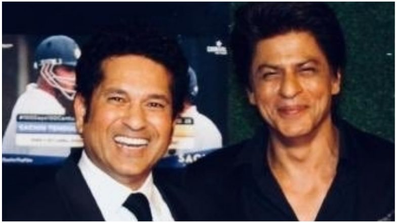 Sachin Tendulkar Wishes Shah Rukh Khan on His 53rd Birthday; The Tweet Will Make You Fall in Love With 'Raj and Rahul' All Over Again!