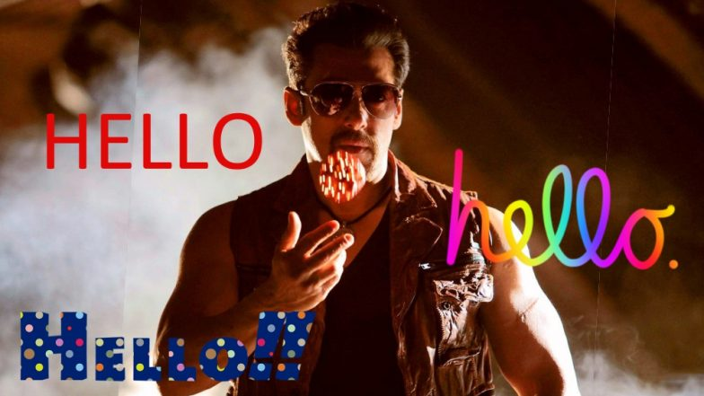 This Salman Khan 'Hello, Hello' Song Is Perfect Way to Celebrate World Hello Day (Watch Video)