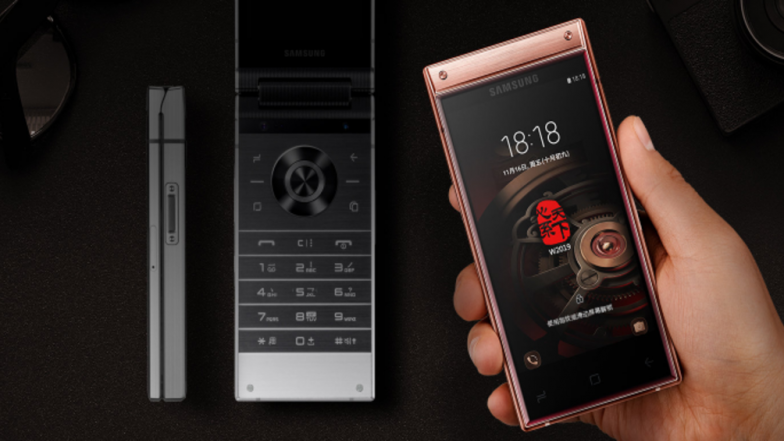 Samsung W2019 Android Flip Phone Launched With Side-Mounted Fingerprint, Dual Super AMOLED Displays: Price, Specifications and Features