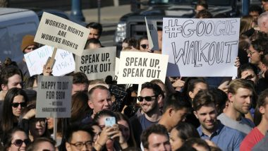 Google Employees Protests Worldwide Against Workplace Harassment