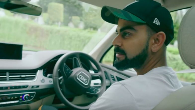 Virat Kohli and His Dog Feature in Latest Audi TVC Ahead of Diwali 2018, Watch Video