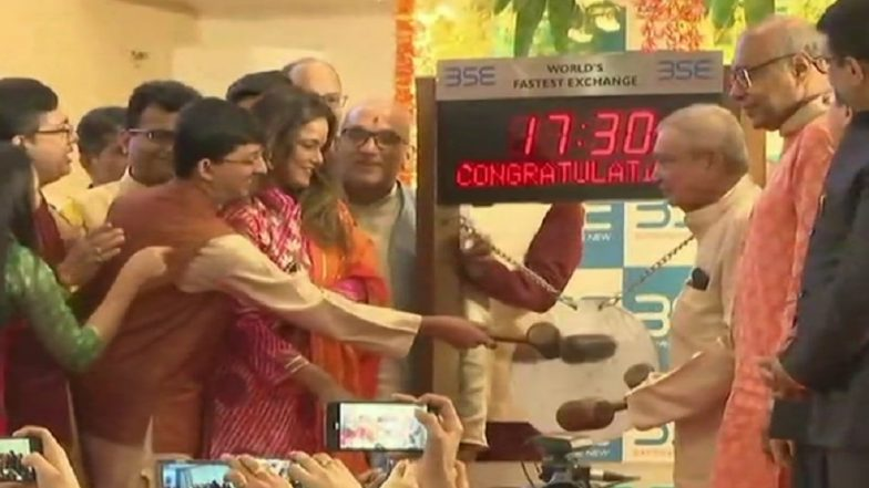 Muhurat Trading on Diwali 2018: Sensex Rises Over 300 Points to Hit 35,300, Infosys Shares up by 1%