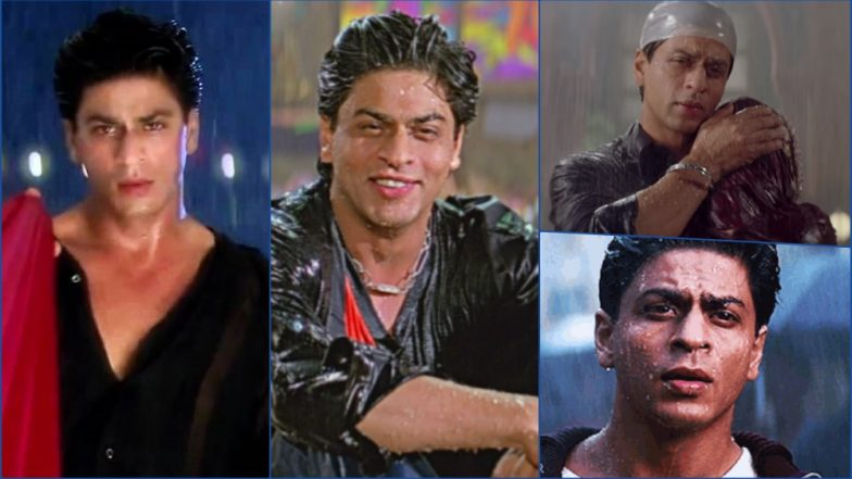 Shah Rukh Khan Makes Rains Super Sexy! These Pictures, GIF Images and Videos of SRK Wet & Drenched Will Make You Sweat Buckets