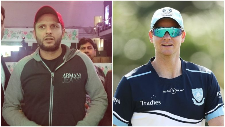 2019 PSL Players Draft Update: Steve Smith, Shahid Afridi to Play for 'Sixth Team' in the Upcoming Season of Pakistan Super League