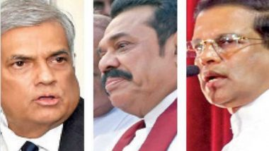 Sri Lanka: Sirisena, Rajapaksa, Wickremesinghe Meet for All-Party Talks but Deadlock Continues