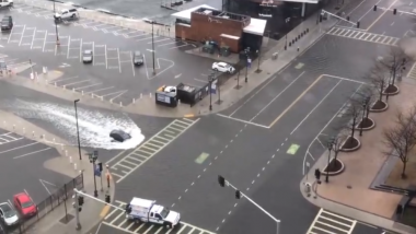 Clean Switzerland Roads During Floods True or Fake? Watch The Original Video From Boston, US