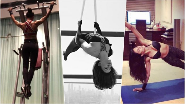 Sushmita Sen Birthday Special: 5 Times When Miss Universe Gave Fitness Goals for Every Woman (See Pics & Videos)