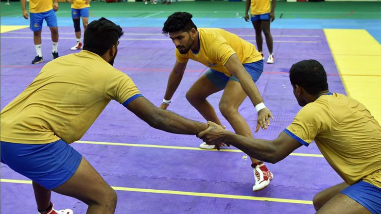 Tamil Thaliavas vs Telugu Titans, PKL 2018-19 Match Live Streaming and Telecast Details: When and Where To Watch Pro Kabaddi League Season 6 Match Online on Hotstar and TV?