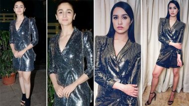 Alia Bhatt or Shraddha Kapoor – Who Nailed This Zara Tuxedo Dress ?