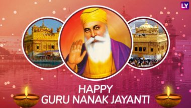Guru Nanak Dev Ji Jayanti 2018 Wishes in Hindi & Punjabi: Best WhatsApp Messages & Prakash Parv Stickers, GIF Images, Facebook Cover Photos & SMS to Share on Gurpurab