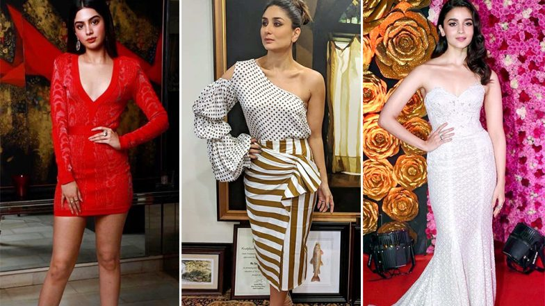 Khushi Kapoor, Kareena Kapoor Khan and Alia Bhatt's Ravishing Outfits Find a Place in Our Best-Dressed Category This Week