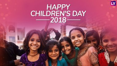 Children's Day 2018 Quotes: Thoughtful & Inspiring Lines to Celebrate Bal Diwas on Birthday of Pt. Jawaharlal Nehru