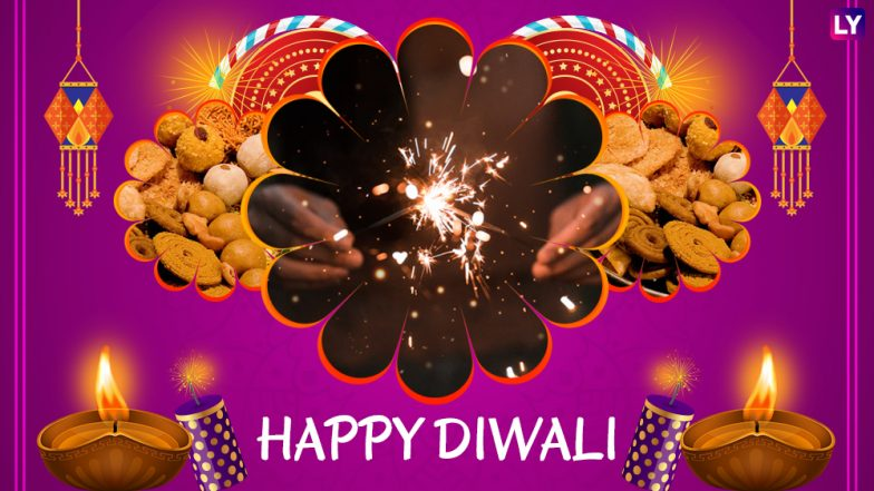 Deepavali 2018 Greetings: WhatsApp Diwali Stickers, Free GIF Image Messages, Facebook Status & Cover Photos to Wish Online on Festival of Lights