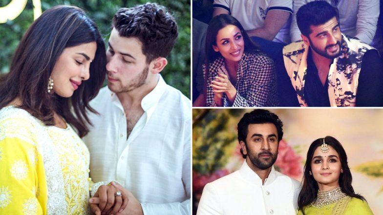 Priyanka-Nick, Malaika-Arjun, Ranbir-Alia: After Deepika-Ranveer, We Can't Wait to See These Couples Get Hitched!