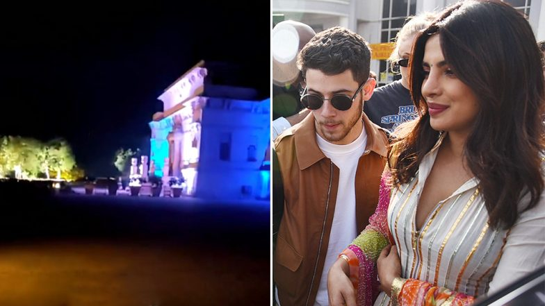 Priyanka Chopra and Nick Jonas Wedding: Baratis Welcomed in Desi Style with Band, Baja at Umaid Bhavan - UNSEEN Inside Pics and Videos