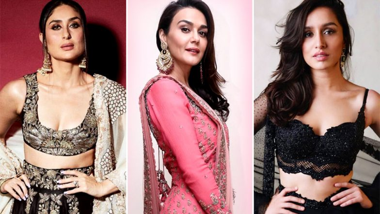 Kareena Kapoor Khan, Shraddha Kapoor and Preity Zinta's Ethnic Outings Deserve a Place in Our Best-Dressed List – View Pics